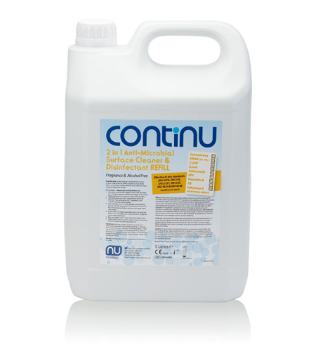 Continu - 2 in 1 SURFACE  CLEANER REFILL